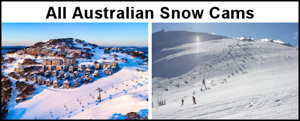 Australian Snow Cams from The Shed Ski Hire, Jindabyne